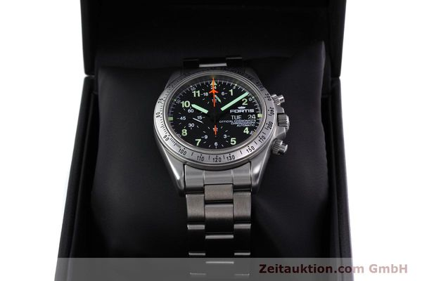 Used luxury watch Fortis Cosmonauts Chronograph chronograph steel automatic Kal. 5100 Ref. 602.22.142  | 152797 07