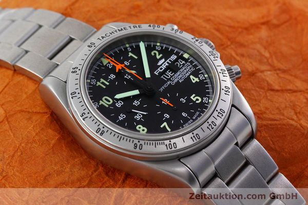 Used luxury watch Fortis Cosmonauts Chronograph chronograph steel automatic Kal. 5100 Ref. 602.22.142  | 152797 14