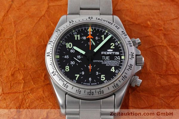Used luxury watch Fortis Cosmonauts Chronograph chronograph steel automatic Kal. 5100 Ref. 602.22.142  | 152797 15