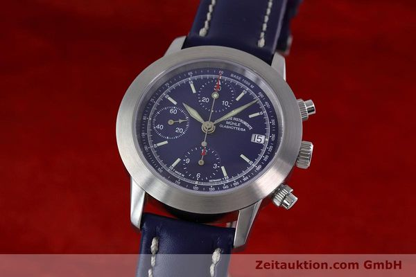 Used luxury watch Mühle Sport Chronograph chronograph steel automatic Kal. ETA 7750 Ref. M1-23-00  | 152798 04