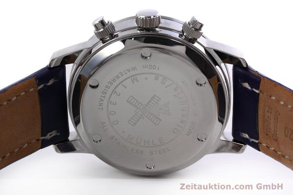 Used luxury watch Mühle Sport Chronograph chronograph steel automatic Kal. ETA 7750 Ref. M1-23-00  | 152798 09