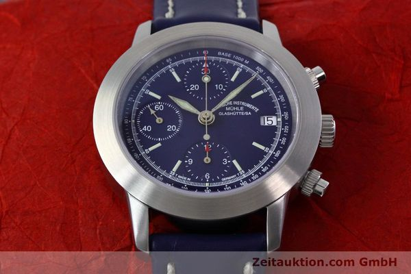 Used luxury watch Mühle Sport Chronograph chronograph steel automatic Kal. ETA 7750 Ref. M1-23-00  | 152798 16