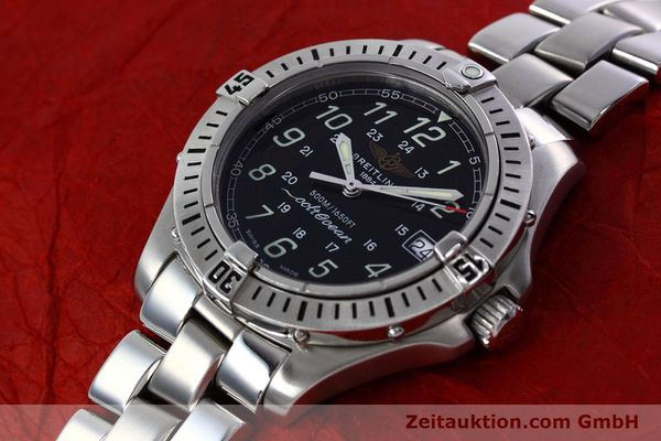 Used luxury watch Breitling Colt steel quartz Kal. B64 ETA 955612 Ref. A64350  | 152806 01