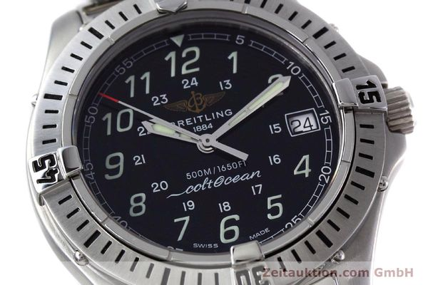 Used luxury watch Breitling Colt steel quartz Kal. B64 ETA 955612 Ref. A64350  | 152806 02