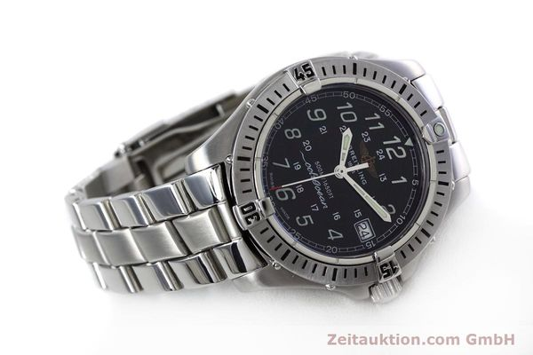 Used luxury watch Breitling Colt steel quartz Kal. B64 ETA 955612 Ref. A64350  | 152806 03