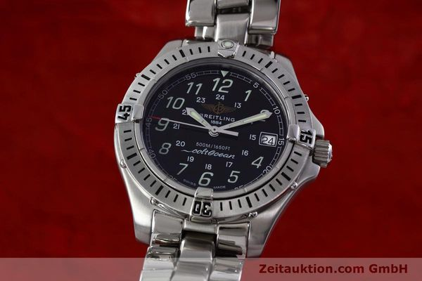 Used luxury watch Breitling Colt steel quartz Kal. B64 ETA 955612 Ref. A64350  | 152806 04