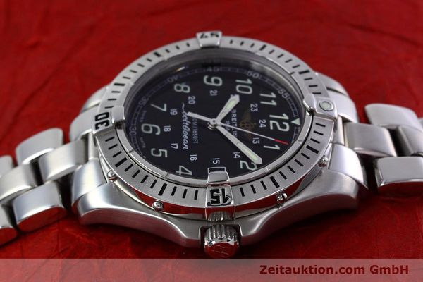 Used luxury watch Breitling Colt steel quartz Kal. B64 ETA 955612 Ref. A64350  | 152806 05