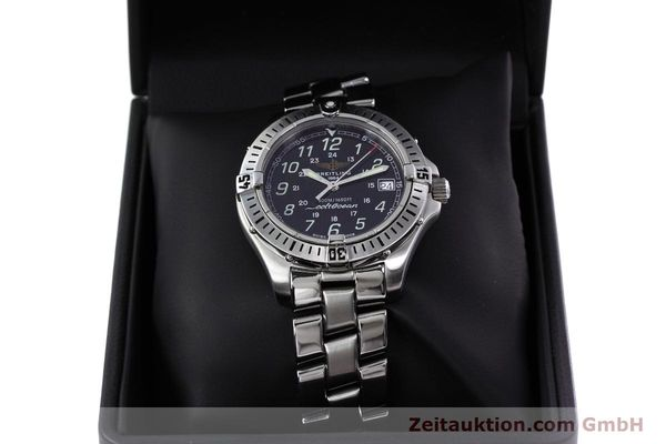 Used luxury watch Breitling Colt steel quartz Kal. B64 ETA 955612 Ref. A64350  | 152806 07