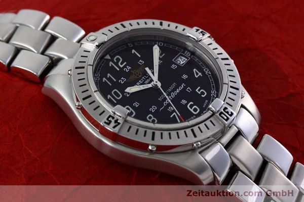 Used luxury watch Breitling Colt steel quartz Kal. B64 ETA 955612 Ref. A64350  | 152806 13