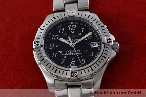 Used luxury watch Breitling Colt steel quartz Kal. B64 ETA 955612 Ref. A64350  | 152806 14