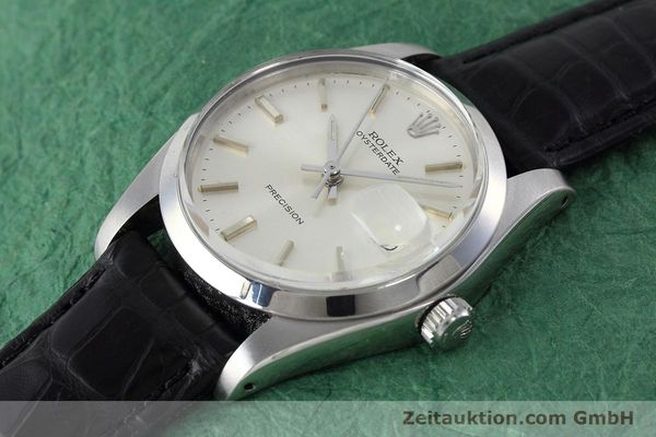 Used luxury watch Rolex Precision steel manual winding Kal. 1225 Ref. 6694 VINTAGE  | 152807 01