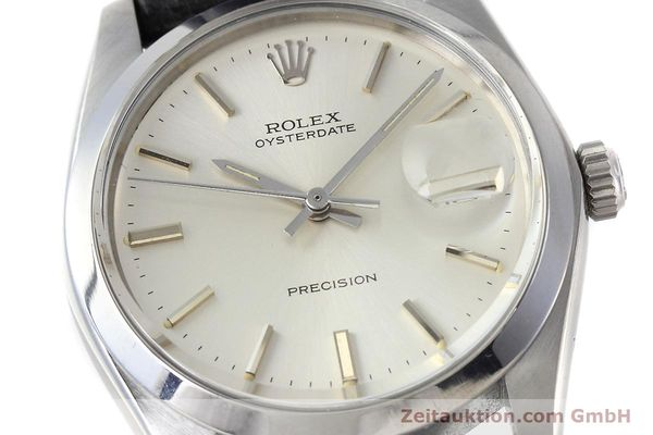 Used luxury watch Rolex Precision steel manual winding Kal. 1225 Ref. 6694 VINTAGE  | 152807 02