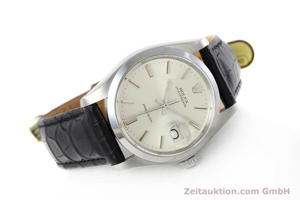 Used luxury watch Rolex Precision steel manual winding Kal. 1225 Ref. 6694 VINTAGE  | 152807 03