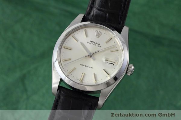 Used luxury watch Rolex Precision steel manual winding Kal. 1225 Ref. 6694 VINTAGE  | 152807 04