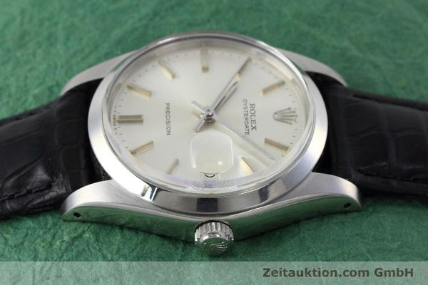 Used luxury watch Rolex Precision steel manual winding Kal. 1225 Ref. 6694 VINTAGE  | 152807 05