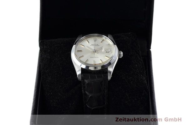 Used luxury watch Rolex Precision steel manual winding Kal. 1225 Ref. 6694 VINTAGE  | 152807 07