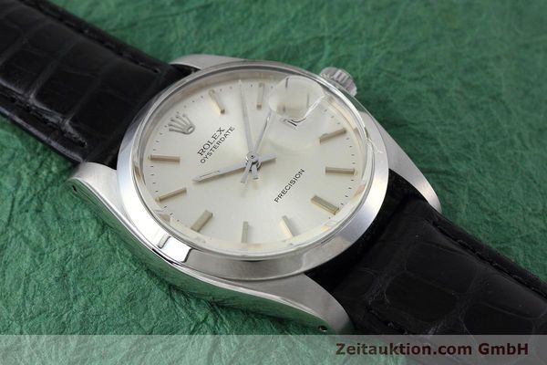 Used luxury watch Rolex Precision steel manual winding Kal. 1225 Ref. 6694 VINTAGE  | 152807 13