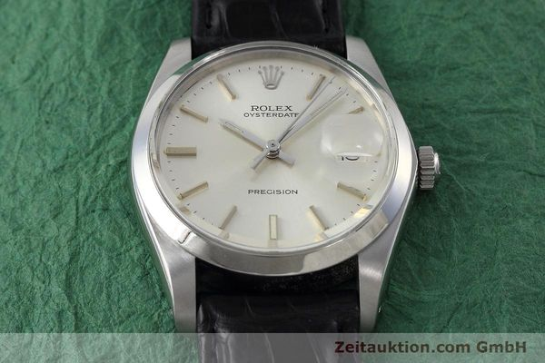 Used luxury watch Rolex Precision steel manual winding Kal. 1225 Ref. 6694 VINTAGE  | 152807 14