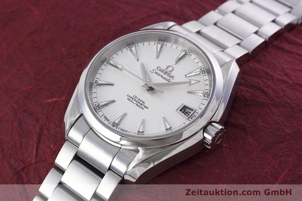 Used luxury watch Omega Seamaster steel automatic Kal. 8500 Ref. 23110392102001  | 152812 01