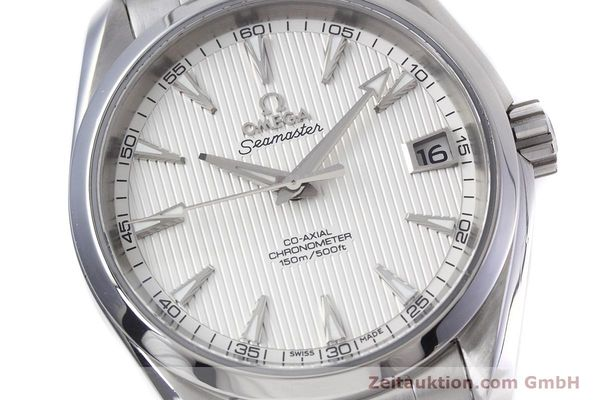 Used luxury watch Omega Seamaster steel automatic Kal. 8500 Ref. 23110392102001  | 152812 02