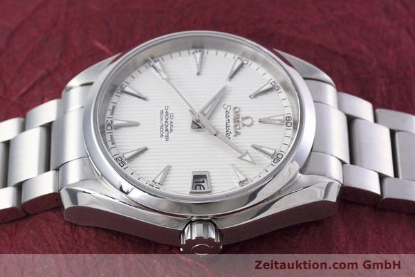 Used luxury watch Omega Seamaster steel automatic Kal. 8500 Ref. 23110392102001  | 152812 05