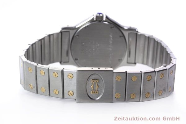 Used luxury watch Cartier Santos steel / gold quartz Kal. 687  | 152815 11