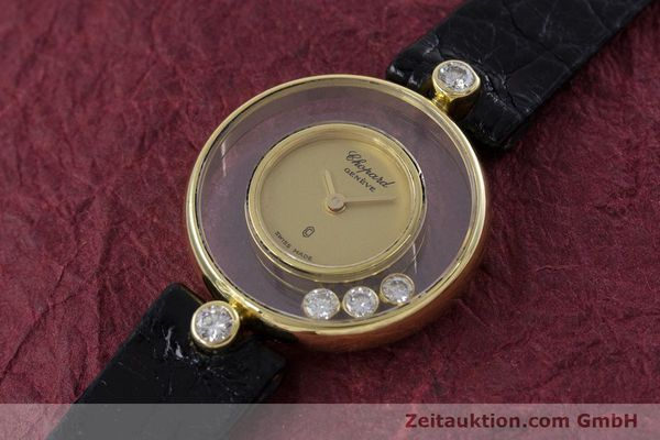 gebrauchte Luxusuhr Chopard Happy Diamonds 18k Gold Quarz Kal. ETA 201.001 Ref. 4069  | 152818 01