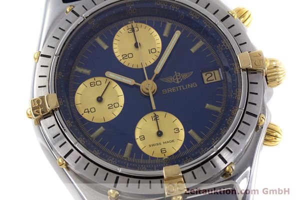 Used luxury watch Breitling Chronomat chronograph steel / gold automatic Kal. B13 ETA 7750 Ref. 81950B13047  | 152820 02