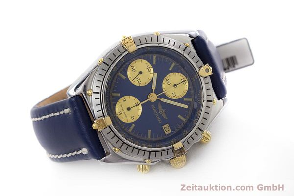 Used luxury watch Breitling Chronomat chronograph steel / gold automatic Kal. B13 ETA 7750 Ref. 81950B13047  | 152820 03
