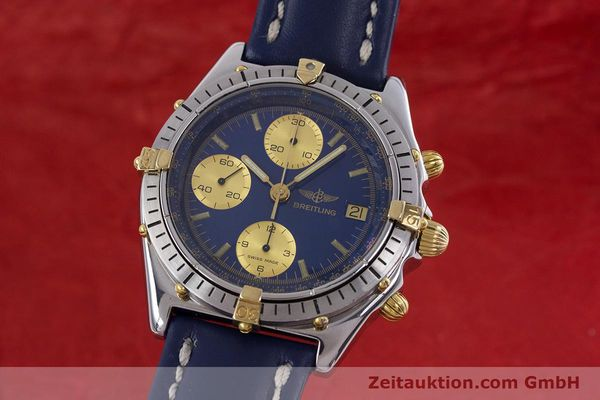 Used luxury watch Breitling Chronomat chronograph steel / gold automatic Kal. B13 ETA 7750 Ref. 81950B13047  | 152820 04