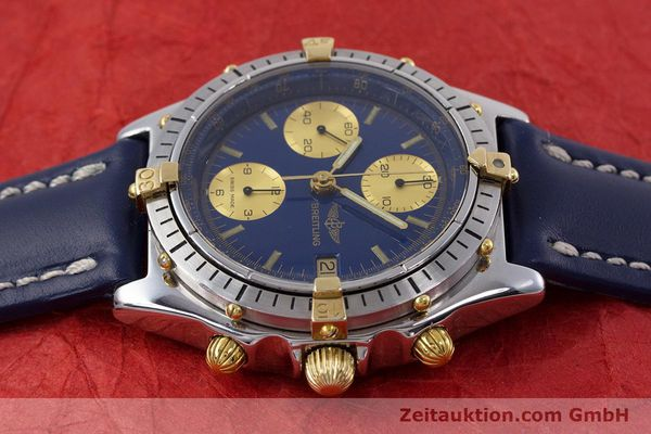 Used luxury watch Breitling Chronomat chronograph steel / gold automatic Kal. B13 ETA 7750 Ref. 81950B13047  | 152820 05
