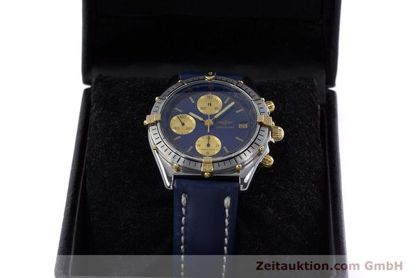 Used luxury watch Breitling Chronomat chronograph steel / gold automatic Kal. B13 ETA 7750 Ref. 81950B13047  | 152820 07