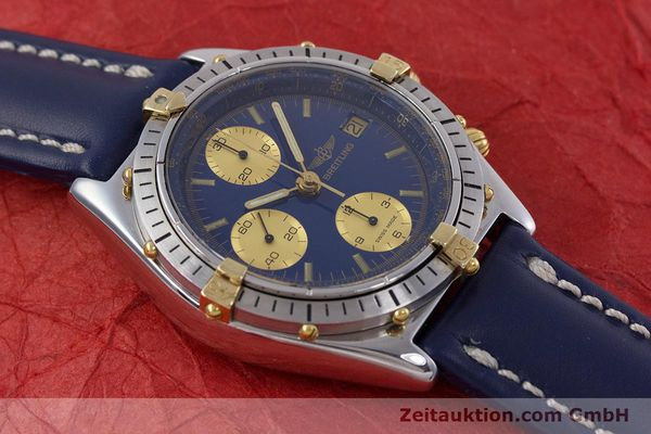 Used luxury watch Breitling Chronomat chronograph steel / gold automatic Kal. B13 ETA 7750 Ref. 81950B13047  | 152820 15