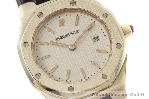 gebrauchte Luxusuhr Audemars Piguet Royal Oak 18k Gold Quarz Kal. 2610 Ref. D66579  | 152828 02