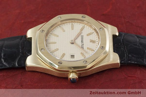 gebrauchte Luxusuhr Audemars Piguet Royal Oak 18k Gold Quarz Kal. 2610 Ref. D66579  | 152828 05