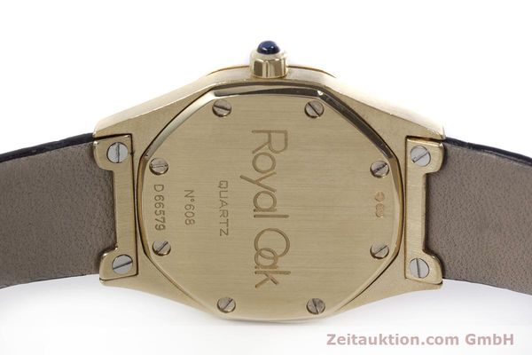 gebrauchte Luxusuhr Audemars Piguet Royal Oak 18k Gold Quarz Kal. 2610 Ref. D66579  | 152828 08