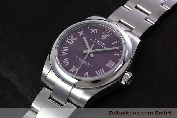 Used luxury watch Rolex Oyster Perpetual steel automatic Kal. 2231 Ref. 177200  | 152831 01