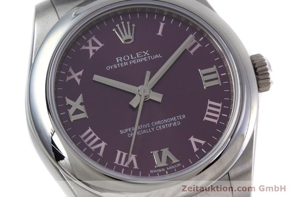 Used luxury watch Rolex Oyster Perpetual steel automatic Kal. 2231 Ref. 177200  | 152831 02