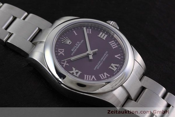 Used luxury watch Rolex Oyster Perpetual steel automatic Kal. 2231 Ref. 177200  | 152831 17