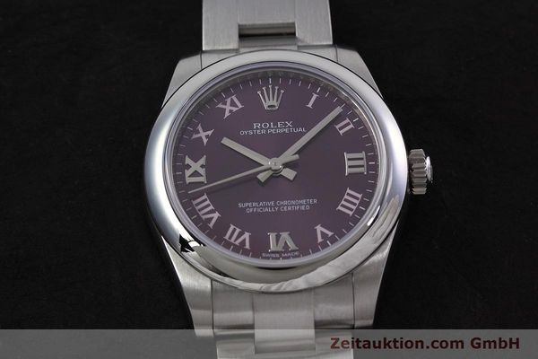 Used luxury watch Rolex Oyster Perpetual steel automatic Kal. 2231 Ref. 177200  | 152831 18