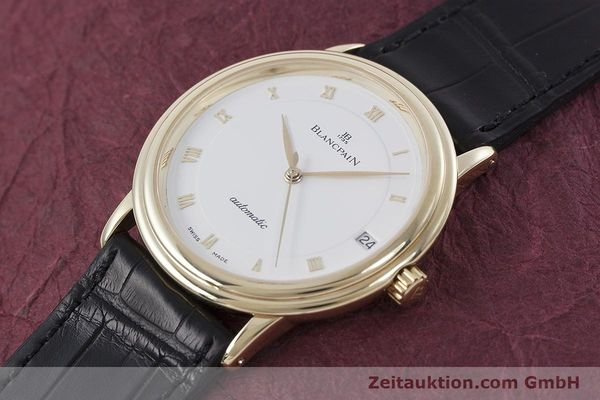 Used luxury watch Blancpain Villeret 18 ct gold automatic Kal. 11.57  | 152837 01