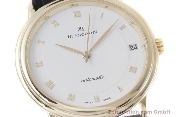 Used luxury watch Blancpain Villeret 18 ct gold automatic Kal. 11.57  | 152837 02