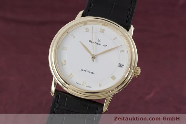 Used luxury watch Blancpain Villeret 18 ct gold automatic Kal. 11.57  | 152837 04