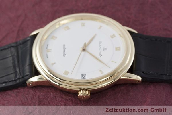 Used luxury watch Blancpain Villeret 18 ct gold automatic Kal. 11.57  | 152837 05