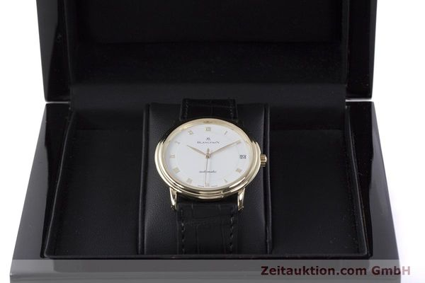 Used luxury watch Blancpain Villeret 18 ct gold automatic Kal. 11.57  | 152837 07