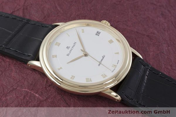 Used luxury watch Blancpain Villeret 18 ct gold automatic Kal. 11.57  | 152837 12