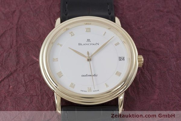 Used luxury watch Blancpain Villeret 18 ct gold automatic Kal. 11.57  | 152837 13
