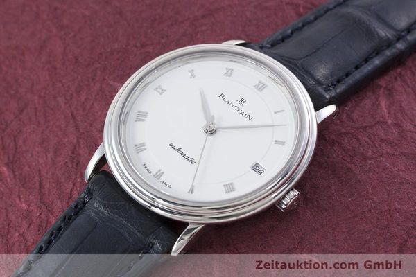 Used luxury watch Blancpain Villeret steel automatic Kal. 1195  | 152838 01