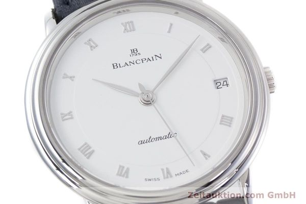 Used luxury watch Blancpain Villeret steel automatic Kal. 1195  | 152838 02