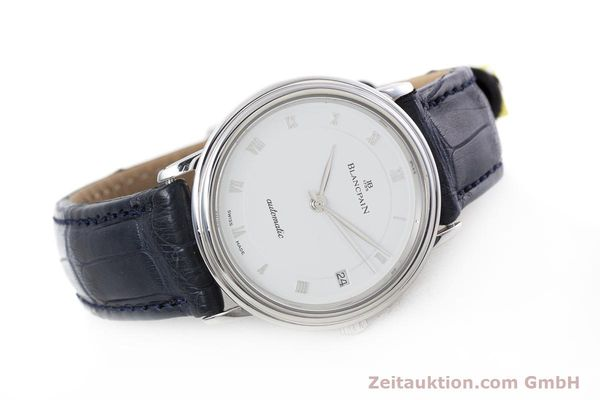 Used luxury watch Blancpain Villeret steel automatic Kal. 1195  | 152838 03